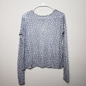 Aeropostale Tops - NWT | Aero | Small | Long Sleeve Heart Graphic Top